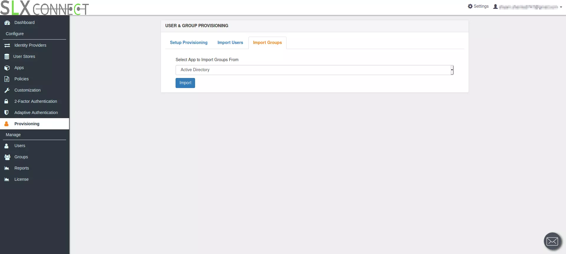 Configure LDAP for AD provisioning